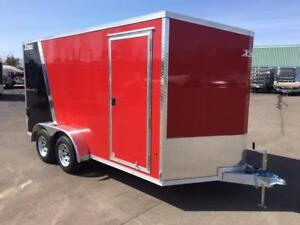 NEW 2018 XPRESS 7' x 14' ALUMINUM ENCLOSED TRAILER