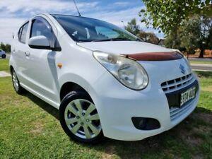2012 Suzuki Alto GF GLX White 5 Speed Manual Hatchback West Hindmarsh Charles Sturt Area Preview