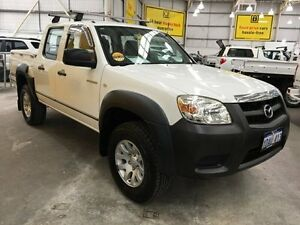 2009 Mazda BT-50 UNY0E4 DX White 5 Speed Automatic Utility Edgewater Joondalup Area Preview