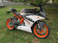 KTM RC 390 SPORTS MOTORCYCLE