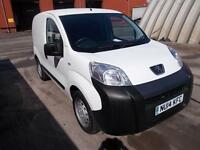 Peugeot Bipper 1.3 HDI 75 S (NON START / STOP) DIESEL MANUAL WHITE (2014)