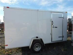 Remorque Fermée SG 6X12/ Enclosed Trailer