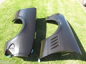 HT HG HOLDEN MONARO GTS MUD GUARD FENDER RIGHT & LEFT A PAIR STEEL REPLACEMENT