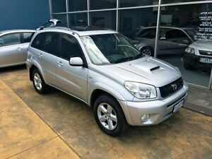 2005 Toyota RAV4 ACA23R Cruiser (4x4) Silver 5 Speed Manual Wagon Hobart CBD Hobart City Preview