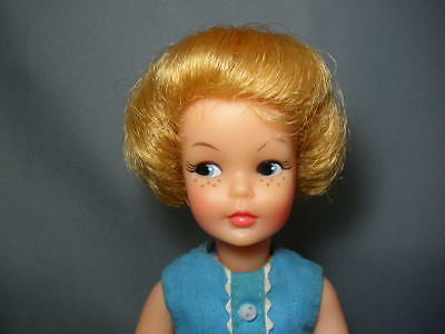 Vintage 1964 Gold Blonde Pepper Tammy Doll In Original Outfit