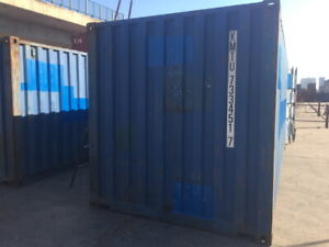 Used Portable Steel Storage Containers for Sale