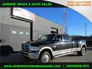 2011 Dodge 3500 Laramie 4X4 Crew Cab 8Ft Box Dually Diesel