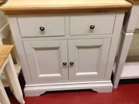 New Chester Oak & Grey Sideboard