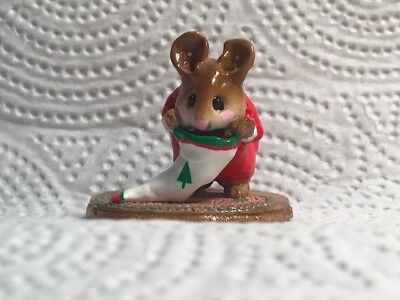 - Wee Forest Folk Chris-Mouse Stocking