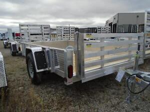 "74""X10' ALL ALUMINUM UTILITY TRAILER - SAY BYE TO RUST! London Ontario image 2"