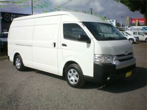 2015 Toyota HiAce KDH221R MY15 SLWB White 4 Speed Automatic Van