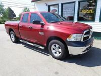 2014 Ram 1500 ST Quad 4x4 V6 only $209 bi-weekly all in!