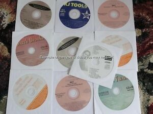 10-CDG-LOT-KARAOKE-CLASSIC-HITS-STARTER-CD-G-POP-ROCK-OLDIES-PACK-1