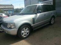 LAND ROVER RANGE ROVER VOGUE AUTOMATIC LEATHER ALLOYS 12 MONTHS MOT SAT NAV