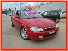 1999 Mazda 323 BJ Astina Red 5 Speed Manual Hatchback Holroyd Parramatta Area Preview