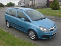 Vauxhall/Opel Zafira 1.6i 16v ( a/c ) 2006MY Life ONLY 40350Mls MOT 19/5/17 Allo