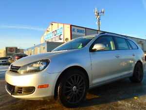 SOLD ####2010 Volkswagen Golf highline Wagon-HEATED SEATS---102K