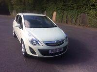 Vauxhall Corsa 1.4i AC 16v 100ps ac SXi 5 door hatch. 2011 plate