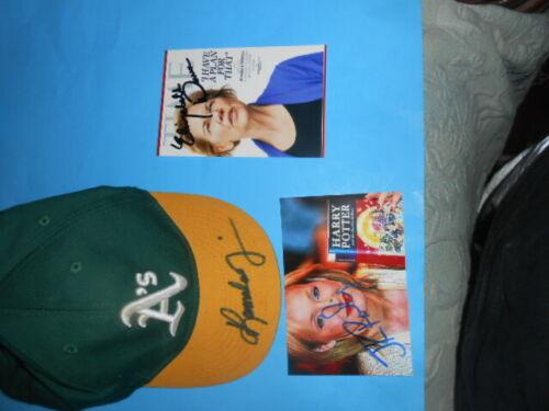 vice president Kamala Harris autographed oakland A