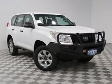 2011 Toyota Landcruiser Prado KDJ150R 11 Upgrade GX (4x4) White 5 Speed Sequential Auto Wagon Jandakot Cockburn Area Preview