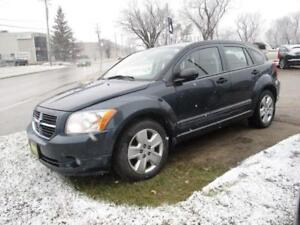 2008 DODGE CALIBER SXT, SAFETY AND WARRANTY $4,950