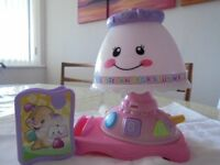 FISHER PRICE LAUGH & LEARN LAMP