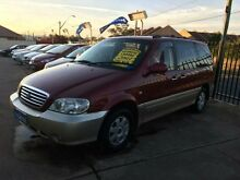 2003 Kia Carnival MY02 LS Red 4 Speed Automatic Wagon Queanbeyan Area Preview
