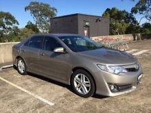 2012 Toyota Camry ASV50R Atara R SE Beige 6 Speed Automatic Sedan Carlingford The Hills District Preview