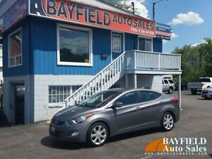 2012 Hyundai Elantra Limited **Leather/Sunroof/Heated Seats**