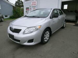 2009 Toyota Corolla CE One Owner w/73066 kms cold a/c