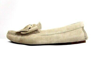 Auth miumiu Cream Suede Womens Shoes#35 (US # 4.5)