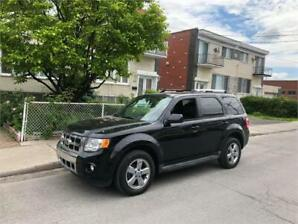 2010 FORD ESCAPE- automatic- AWD- V6-  CUIR-TOIT-MAGS-    5500$