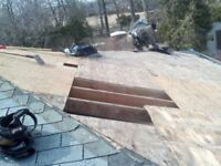 Gutter Cleaning, Chimney Removal, Single Repair