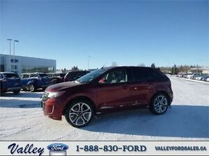 DRIVE SMART, DRIVE SAFE! 2014 Ford Edge Sport AWD