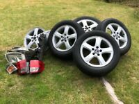 Genuine SAAB 9-5 ARC AUTO 2001 Alloy Weels & Tyres for sale  Sutton, London