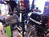 YAMAHA AND MERCURY PORTABLE OUTBOARDS