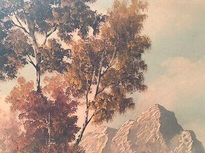 Alpenlandschaft- Hermann HALLER 1880 - 1950