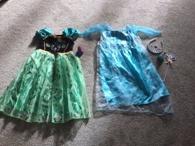 Frozen Dress up Age 3-4 Years