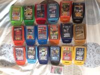 18 sets of Top Trumps. Very good or excellent condition.