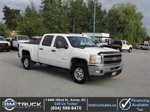 2012 CHEVROLET SILVERADO 2500HD LT CREW CAB SHORT BOX 4X4