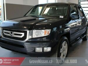 2009 Honda Ridgeline EX-L: LEATHER, HEATED SEATS, SUNROOF, 4X4