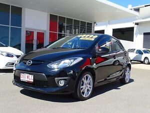 2007 Mazda 2 DY10Y2 Genki Black 4 Speed Automatic Hatchback Garbutt Townsville City Preview