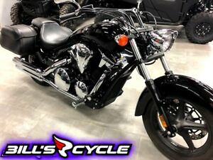 2013 HONDA On Road VT 1300 CRAD   Stateline Jet Black