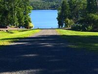 Water view and access lot for sale