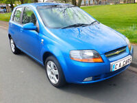 2006 06'reg Chevrolet Kalos 1.4 SX **Air Con, Alloys, **44,000 miles**