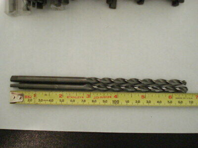 Lot Of 2 Guhring 6.35mm 14 X 6-12 Solid Carbide Parabolic Drill