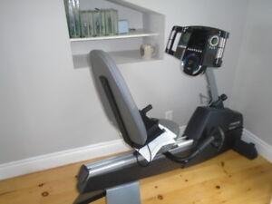 PRO-FORM Interactive trainer recumbent bike