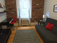 (*May Free Rent*) Fully Furnished 3 1/2 Apartment Available now