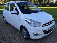 2012 Hyundai i10 1.2 ( 85bhp ) Style ONLY 6,000 MILES LOADS OF EXTRAS IMMACULATE