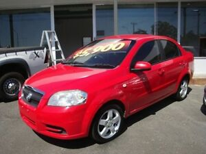 2007 Holden Barina Red Sedan Eight Mile Plains Brisbane South West Preview